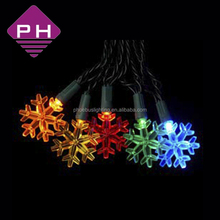 2015 led decorative snowflakes light string for christmas