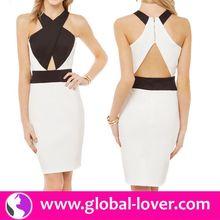 2015 new sexy bodycon bandage dress , fashion casual summer dress