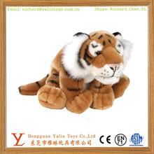 Eco-friendly plush mini cute realistic tiger for sale
