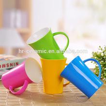 12 oz Tasas promocionales en ceramica con varios colores que le gustan