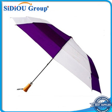 High Quality Double Layer Windproof 3 Fold Umbrella