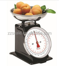 Sensitive balance and scales weighing food kitchen apparatus