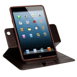 360 degree rotate styles colorful leather case for ipad mini