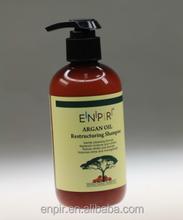 Pure moroccan argan oil hair shampoo restructuring shampoo