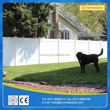 Hot Sale Low Price PVC Fence