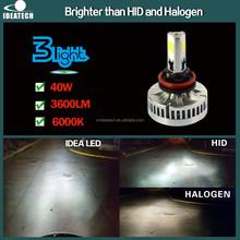 2015 high power car led headlight lamp h8