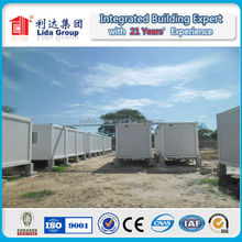 insulated low cost prefabricated living prefab house on wheels