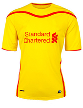 wholesale football wear custom new 2014/2015 thai quality home and away soccer jersey