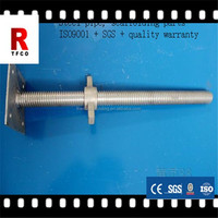 galvanized metal swivel base