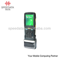 Wireless Mobile Handheld Terminal support Barcode Scanner ,Thermal Printer,RFID Reader ( SPEEDATA TT35 ,IP65,Rugged )