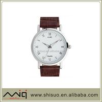 2015 men fashion leather watch,watch genuine leather,watch men leather