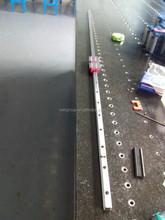 A basso rumore e ad alta velocità binario di guida lineare cnc ser-gd15wa