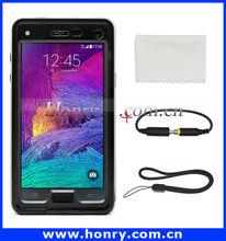 Wholesale for Samsung note 4 waterproof phone case, waterproof case for note 4