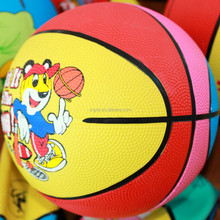 High quality unique professional 10 panels rubber basketball