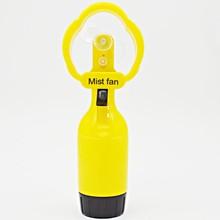 Promotion gifts mini outdoor plastic water mist spray fan
