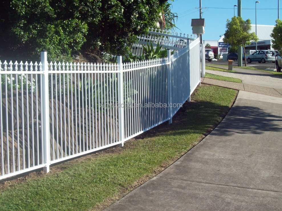 Black powder coating aluminium garden fence panel buy
