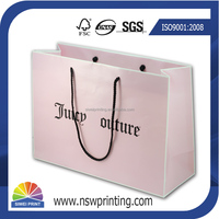 Wholesale Customized Euro Tote Paper Shopping Bags