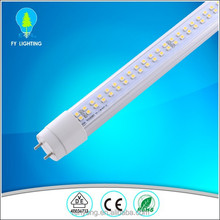 Best quality top sell high lumen LED tube roveable and rotatable end cape