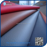 Lichee pattern pvc upholstery leather for car seats