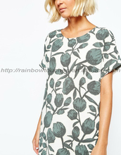 Warehouse 2015 selected cathy printed lady long dress