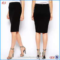 China supplier fashion high waist black ladies designer suits pictures of designs skirt suits ladies formal skirt suits
