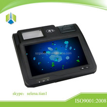 High quality 10.1 inch Touch screen payment pos system with multi function,support card payment,barcode payment---Gc039B
