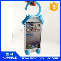 Silicone Flexible Cell Phone Holder / Man Shaped Cell Phone Holder
