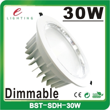 china factory price 10 inch square recessed 10w 12w 18w 30w dimmable cob led downlight