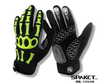 antiskid and shockproof skeleton style cycling glove