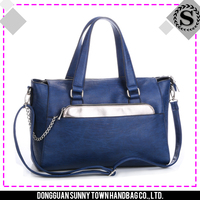 Hot sale good quality choose first class PU leather material handbags bag tote