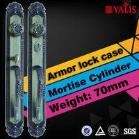 Timber Door Handle 6 Master Brass Keys Anti-Theft Lock Body Vintage Door Handles
