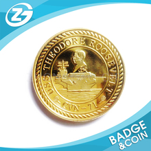 Promotional Fashionable Personalized Brand Custom Fade Souvenir Coin