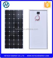 Best price per watt yingli solar panel 120watt solar panel portable