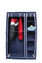 folding non-woven fabirc clothes pvc wardrobe SZ-YY-828
