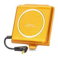 """Designer's """"2400mAh"""" External Back Battery for PSP 3000 - Golden"""