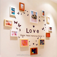 Creative wooden photo frame love photo frame / Home decor wall hanging photo frames