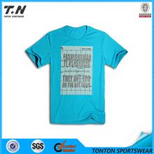 Long sleeve sports dry fit custom printing men t shirt
