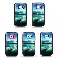 for Samsung Galaxy S6 silicone shockproof cover