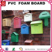 firm inside Virgin Closed Cell Crust PVC foam board for letter box