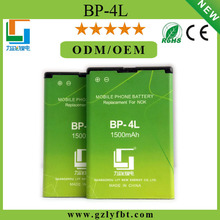 Genuine high quality best selling low price best cell phone battery for nokia BP-4L