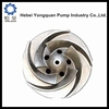 stainless steel casting pump accessories parts impellers manufature