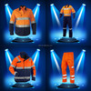 Men's Mining Workwear /Industrial Reflective Cotton Coverall/Working Wear /Safety Clothing