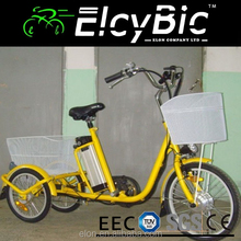 new design 3 wheel electric charging tricycle in fashion