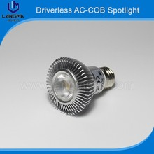 AC85V-260V Langma PAR20 7W LED Spotlight to replace 50w halogen bulb