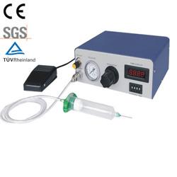 Semi automatic glue dispenser for smd led