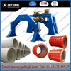 precast concrete culvert mould making machine from China/Roller suspension concrete pipe machine for Africa