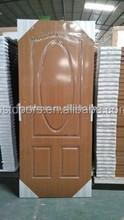 Gold Tortoise Walnut Color American Steel Door