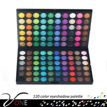 120 color eye shadow for sale,cosmetics factory in China