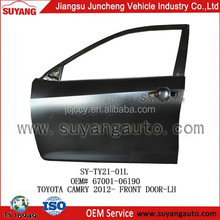 Auto Body Parts Front Door For Toyota Camry 2012-