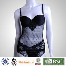 Super Quality Fashion Sweet Girl Padded Girls Sexy Sheer Lingerie